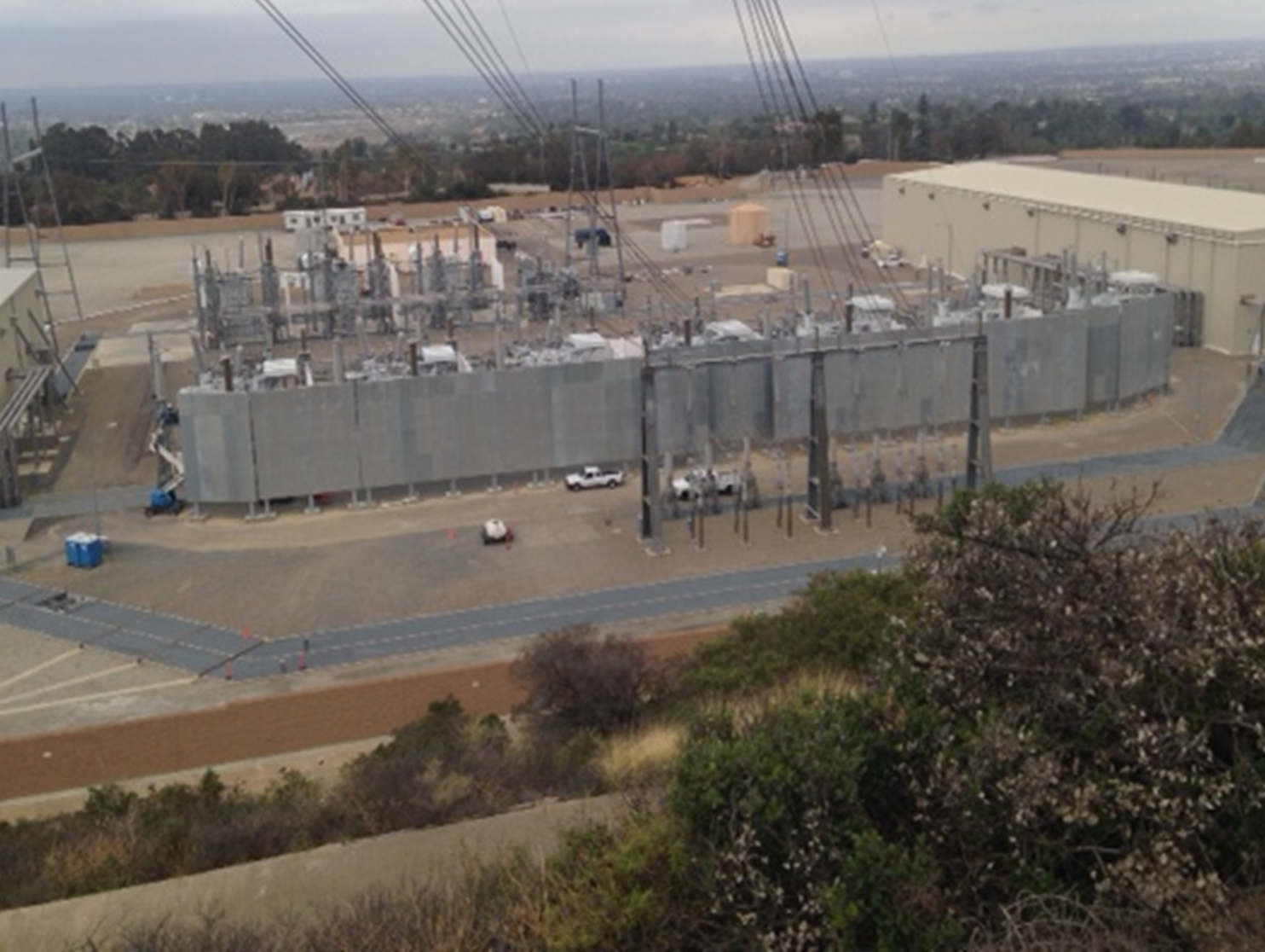 Large Project At US Substation- Providing Power To Large Portion Of California